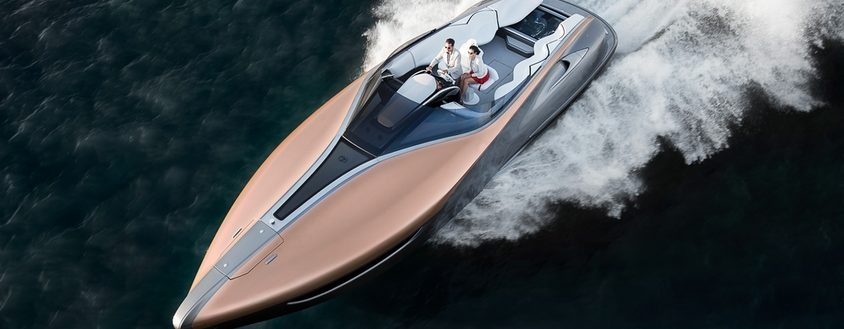 Lexus Sport Yacht Concept by Marquis Yachts
