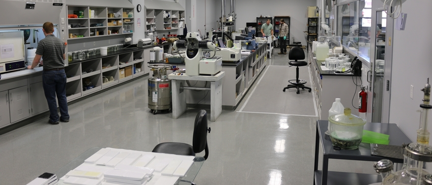 The Gougeon epoxy formulation lab